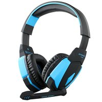 Wholesale Original Kotion EACH G4000 USB Stereo Anti noise PC Gaming Headphone Headset Headband with Microphone Volume Control LED Light