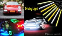 Wholesale Outdoor Waterproof Bright Car DRL LED Fog Driving Lamp COB Daytime Running Light Size Cm