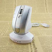 Revisiones Usb rechargeable wireless optical mouse-Recargable sin hilos del ratón de 2,4 GHz USB 1600 DPI Los ratones ópticos Mini Car Styling juego y Hub USB de la computadora de escritorio del ordenador portátil