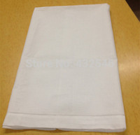 american made linens - HomeTextiles New American style Elegant quot x42 quot White linen Bath Towel With Hemstitched edges Best Quality makes guests feel welcom