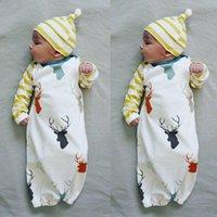 Wholesale 2016 Newborn Kid Baby Boy Girl Romper Bodysuit Sleeping Bag Pajama Sleepsack Outfit
