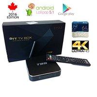 Wholesale T95 Android TV Box Amlogic S905 bit KODI Fully Loaded Quad Core CPU K HD Lollipop