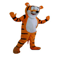 anime apparel - Lovely Tigger and Winnie the pooh Mascot Costume Adult Size Cartoon Mascot Animal Apparel