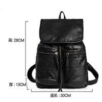 Wholesale DHL free Fashion Designer Handbags Backpacks New Small Shoulder Bags PU black ladies casual bag