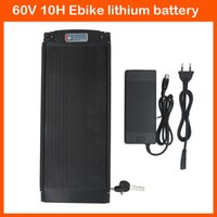 Wholesale 900W Rear Rack Electric bike Battery V AH E Scooter battery V Lithium battery A BMS V A charger