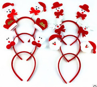 Wholesale Christmas party supplies party head hoop head ornament Christmas gifts props garnishment Christmas decorations pretty lovely