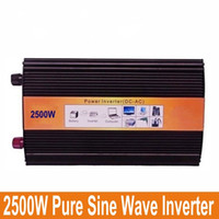 air conditioner load - 2500W Pure Sine Wave Inverter specially design to power motor P air conditioner refrigerator etc inductive loads