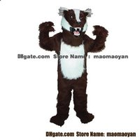 Mascot Costumes badger picture - Badger Mascot Costumes Cartoon Character Adult Sz Real Picture