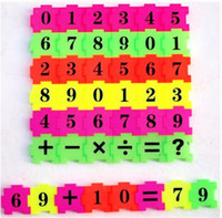 Wholesale PC Children Baby Kid Newborn Early Learning Count Numbers Jigsaw Puzzle Educational Toy Gift
