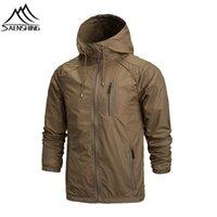 Wholesale Outdoor Jacket men Windproof Breathable Hiking Jackets Sportswear Waterproof Fishing jacket ski jacket Camping Rain Hoodie