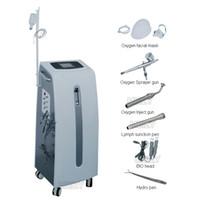 Wholesale 6IN1 Hydro Peel Water Dermabrasion Facial Skin Peeling Hydra Oxygen Inject Sprayer BIO jet Machine beauty salon equipment Spa