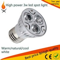 Wholesale commercial home lighting GU10 E27 high power w Led Spot light home lighting