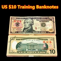 Wholesale 100PCS USA Training Banknotes Bank Staff Collect Learning Dollars New Commemorative Arts Christmas Gifts Banknotes Home Arts Crafts