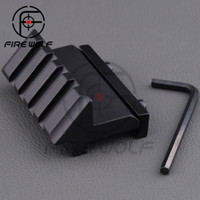 001 airsoft guns laser - Hunting Air Gun Airsoft Degree Offset mm Rail Mount Slot for Rifle Weaver Picatinny Flash Light Laser
