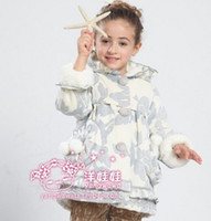 Wholesale Girls Baby Kid Suede Waterproof Hooded Coat Jacket Outwear Raincoat Hoodies