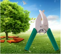 apple tree cuttings - Hot Branches Pruners Cutter sticks Stripper Girdling orange Apple tree grape scissors Grilled tree cutting knife Pruning shears Garden tools