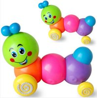 Wholesale Cut Baby Wind Up Toys Carpenterworm Cutworm Clockwork Colorful Wind Up Chicken Toy