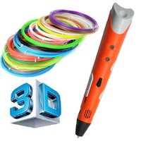 Cheap 1.75mm ABS PLA DIY Smart 3D Pen 3D Printing Pen Drawing Pen Printer With Free Filament Creative Gift For Kids Design Painting