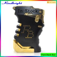 bank points - 2015 point bank box mod new arrival point blank vape mod clone Point Blank box Mod By Kindbright