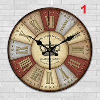 Wholesale Home Office Wall Clock creative clock super quiet art clock home office Decoration item1