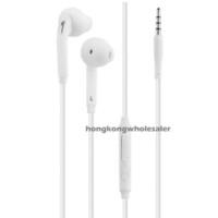 Wholesale For Samsung Galaxy S7 S6 Edge Noodle Headphone in ear Earphone in ear mm In Ear Stereo w Mic Remote Volume Control Earphones OFF