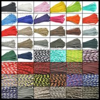 Wholesale Paracord Parachute Rope Core Strand FT For Climbing Camping Buckles Bracelet Colors For Pick S0021 A B1 CP lots100