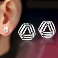 Wholesale 925 sterling silver ear jewelry cute Korean version of Europe and clouds earrings small jewelry silver jewelry