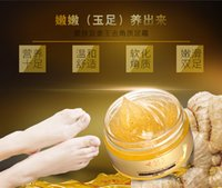 Wholesale Gold Whitening Foot Cream Hot Selling Removal of calluses dead skin exfoliating Gold Foot Cream