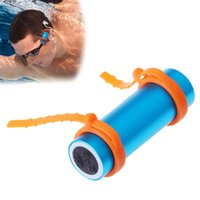 armband radio - Portable swimming Diving Waterproof GB MP3 Player FM Raido Waterproof Level IPX8 Underwater Sports MP3 Earphone Armband