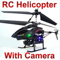 best radios with remote control - Best Birthday Gift WL S977 CH Radio iphone remote Control Metal Gyro rc Helicopter With Camera quadcopter M087