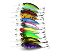 Wholesale 10Pcs Latest water surface series cm g laser Road sub fishing bait lures bionic bait Lure plastic fishbait free delivery