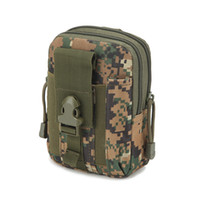 Wholesale molle movement Pocket male outdoor men women Tactical Mountaineer travel waist package Camouflage Run Phone Bag