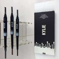 Wholesale KYLIE Brow definer Hills Brow Pencil Double ended with eyebrow brush g Color A Sourcils Fin Skinny in stock kylie kit hot sale