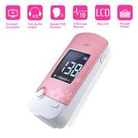Wholesale Babyfun Fetal Doppler Monitor Detector Fetal Heart Rate Monitor for Pregnant Mother Unborn Baby Speak FHR Number MHz Probe