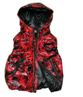 Wholesale New baby boys girls down vest cartoon kids fashion feather coat zipper A variety of styles boy warm clothes Girls vest