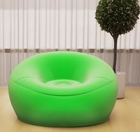 balcony furniture - Inflatable adult lazy sofa couch couch rice bedroom balcony dormitory creative leisure chair folding siesta