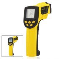 Wholesale HoldPeak Digital thermometer Non contact termometro Infrared IR Thermometer Laser Temperature Gun Sensor Meter