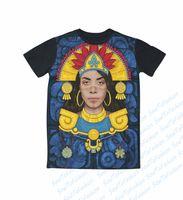 babygirl clothing - Real USA Size custom made Native Babygirl Aaliyah D Sublimation print T Shirt unisex clothing