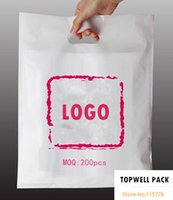 Wholesale Customized shopping bag sizes color bagfor choose print logo plastic Bag custom printed promotion bags brand logo bag Custom logo gift bag