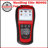 best ds system - Best Price Autel Maxidiag Elite MD802 DS systems Update Via Internet Engine Transmission ABS Airbag Autel MD Diagnostic Tool