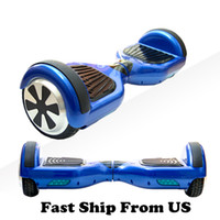 Wholesale USA STOCK UL Smart Balance Wheel Hoverboard Electric Skateboard Unicycle Drift Self Balancing Standing Scooter Hoverboard
