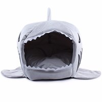 Wholesale 2016 Size Pet Products Warm Soft Dog House Pet Sleeping Bag Shark Dog Kennel Cat Bed Cat House cama perro