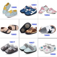 Wholesale 2016 New Arrival Baby Toddler Soft Sole Boy Girl Kids Children Genuine Leather Shoes Prewalker Booties