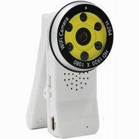 nuit IR Version Mini clip Wifi Caméra Full HD 1080P Wireless Hidden Cameras enregistreur vidéo numérique en boucle vidéo à distance IP / P2P WebCam