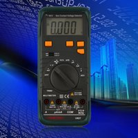 Wholesale Digital Multimeter AC DC Voltage Frequency Tester Detect Continuity