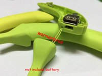 banana bank - 20pcs Banana Shape Mobile Phone DIY emergency USB mobile Power Bank circuit board empty Case cover li ion rechageable Battery charger