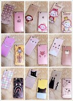 beard iphone - Cartoon Soft TPU Case Shockproof Dot Mokyo Bryant Beard Pig Smile Clear Cat Bra Monster Colorful For Iphone Plus S I6 skin Luxury
