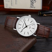 belt strap watches - Fashion Classic Badace Alloy Case Leather Belt Strap Women Luxury Style Quartz Elegant Noble Slim Wrist Watch