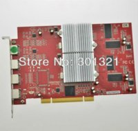 Wholesale 100 New AR Dual GPU M PCI VGA Multi screen display card with HDMI to VGA output ports to support monitors