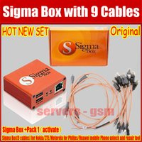 alcatel cables - Original The newest version sigma box with cables with Pack activation for t MTK based Motorola Alcatel Huawei ZTE Lenovo